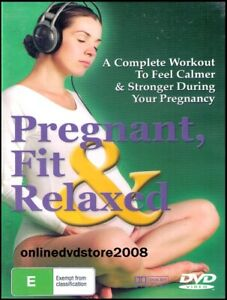 PREGNANT, FIT & RELAXED Pregnancy Exercise Health Fitness Workout DVD NEW SEALED
