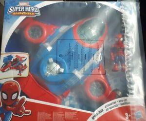 Playskool Heroes Marvel Superhero Adventures-spiderman Jetquarters Webjet