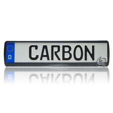 1x Carbon Kennzeichenhalter Fiat Panda+Punto+Scudo+Marea+Ducato+Scudo Tuning