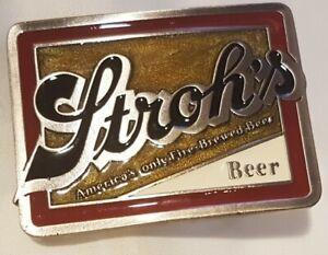 Bier Buckle, Gürtelschliesse/ Stroh s Beer  / original  Tanside  2275