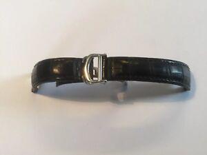 Cartier Original Armband , Lederband , Krokoleder Faltschließe 10/18 mm