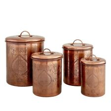 New listing Old Dutch International Tangier 4 Piece Kitchen Storage Canister