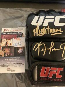 Kamaru Usman Signed Autographed UFC Glove JSA COA