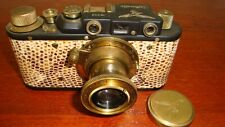 Russian Leica Copy Luftwaffe WW2 Vintage 35MM Camera SN203, Exc Condition