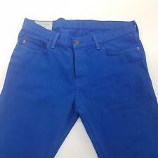 Abercrombie & fitch Skinny Jeans de hombre W35 L34 Azul calce ajustado de mediados de subida