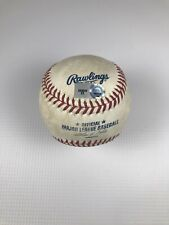 2013 Padres Boston Red Sox Game Used Baseball David Ortiz 500th Double Game