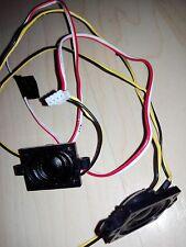 ACER s275hl SPEAKER SET ALTOPARLANTI CASSE LED LCD TV MONITOR ACCESSORI pezzo di ricambio