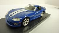Del Prado 1:43 Dodge Viper 1996 blau in VP (A275)