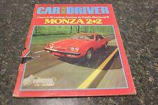 CAR AND DRIVER MONZA 2+2 SEPTEMBER 1974 VOL.20 #3 9248-1 [LOC.ELK] (BOX B) #292