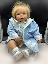 Inge Tenbusch Porzellan Puppe 60 cm. Top Zustand