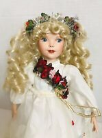 "14"" Paradise Galleries Angel of Love by Patricia Rose Porcelain Doll"