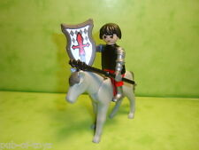 Playmobil : chevalier et sa monture playmobil / knight cheval horse
