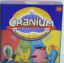 CRANIUM Outrageous Fun For Everyone Board Game Family Game Night Stunts Art EUC