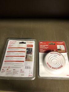 2No Reusable 30month 85dBA  Water Leak Alarm Honeywell  RWD1SE Homexpert