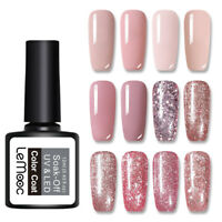 LEMOOC 12ml Rose Gold Gellack  Color Sequins Soak Off UV Gel Nagel Varnish