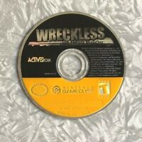 Wreckless The Yakuza Missions Nintendo Gamecube *DISC ONLY* Tested Free Ship!