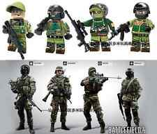 BATTLEFIELD L3GO PACK SWAT POLICE POLICIA MILITAR EJERCITO TOYS JUGUETE BLOCKS
