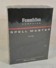Franklin Computer Spell Merriam Webster Master Sa-103 Leaning Dictionary