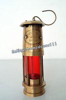 Vintage Oil lamp Brass Antique Finish Style Hanging Lantern Light Beautiful Gift