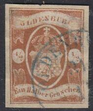 Briefmarken mit BPP-Signatur aus dem altdeutschen Oldenburg (bis 1945)