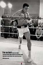 Muhammad Ali I´m so fast Großes Poster 92 x 61 cm
