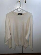 Ashworth White Polyester / Cotton Comfort Sweater (Size XXL)