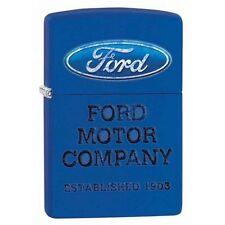 Zippo 28838 ford motor company royal blue finish full size Lighter