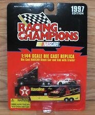 Racing Champions 1:44 Scale Diecast Replica NASCAR Stock Car & Cab w/ Trailer
