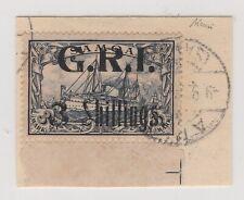 Deutsche Kolonien, Samoa, Britische Besetzung, Nr. 12, gestempelt, geprüft