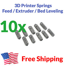 10x 3D Printer Extruder Spring Feed Bed Leveling MakerBot Prusa i3 20mm 7.5mm