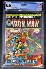 Iron Man #58 CGC 8.0  5/73 2109846004 - Unicorn & Mandarin appearance