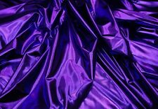 dance Lycra Spandex Metallic Purple 4 way stretch custom fabric sold BTY 60 wide