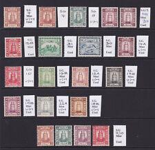 Maldives. 1909-1933. Fine mint selection.
