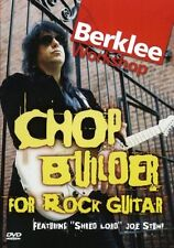 Joe Stump Chop Builder For Rock Guitar Learn to Play Metal Hard Music DVD