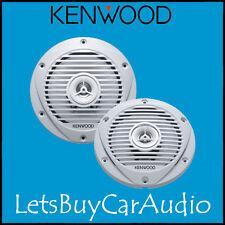 "KENWOOD kfc1652mrw Impermeabile 170 mm (6,5 "") 150 WATT MARINI 2 VIE ALTOPARLANTI"
