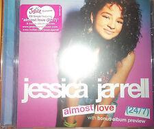 NEW SEALED CD SINGLE ALMOST LOVE (24/7) BY JESSICA JARRELL W/BONUS ALBUM PREVIEW