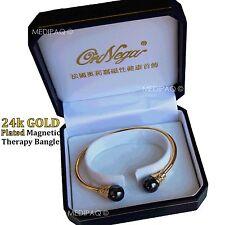 Medipaq ™ 24K GOLD PLATED Terapia Magnetica Strass arthiritis reumatismi sciatica