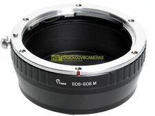 Adapter per montare obiettivi Canon EF su corpi EOS M mirrorless. Adattatore.