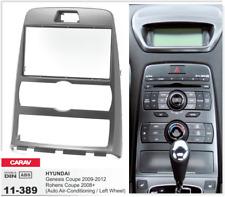 CARAV 11-389 2Din Marco Adaptador Kit de Radio para HYUNDAI Genesis Coupe Gris