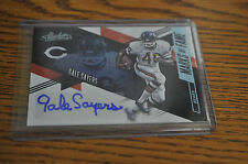 2016 PANINI ABSOLUTE MARKS OF FAME GALE SAYERS AUTOGRAPH NM/MINT