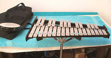 CB  Practice Kit   Bells & stand & Drum & padded case in good used cond.