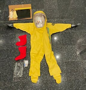 Chemical Hazmat Suit For Sale Ebay
