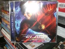 THE FLASH,SEASON 4 TELEVISION SOUNDTRACK,WITH SIGNED INSERT,LIMITED EDITION