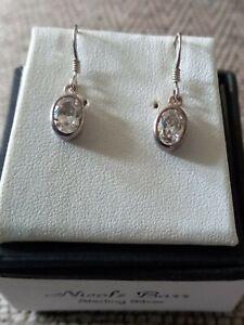 Beautiful Vintage Silver Dropper Ear Rings