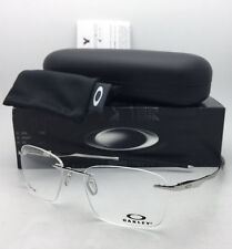New OAKLEY Eyeglasses WINGFOLD EVS OX5115-0353 Rimless Titanium Chrome Frame