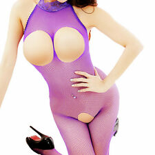 Mesh Big Fishnet Dress Bodystockings Body Stocking Bodysuit Nightwear Lingerie