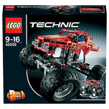 LEGO TECHNIC 2 IN 1 MONSTER TRUCK FUORI PRODUZIONE 9-16 ANNI ART 42005