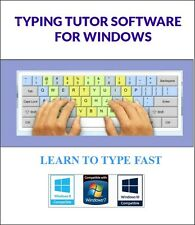 Typing Tutor, VERY easy. Software - Learn to Type on your keyboard Fast, windows