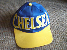 CHELSEA  baseball cap hat blue and yellow, NEW