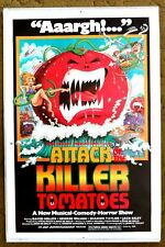 """""""ATTACH OF THE KILLER TOMATOES""""  Veggies are going BANANAS - Classic Cult poster"""